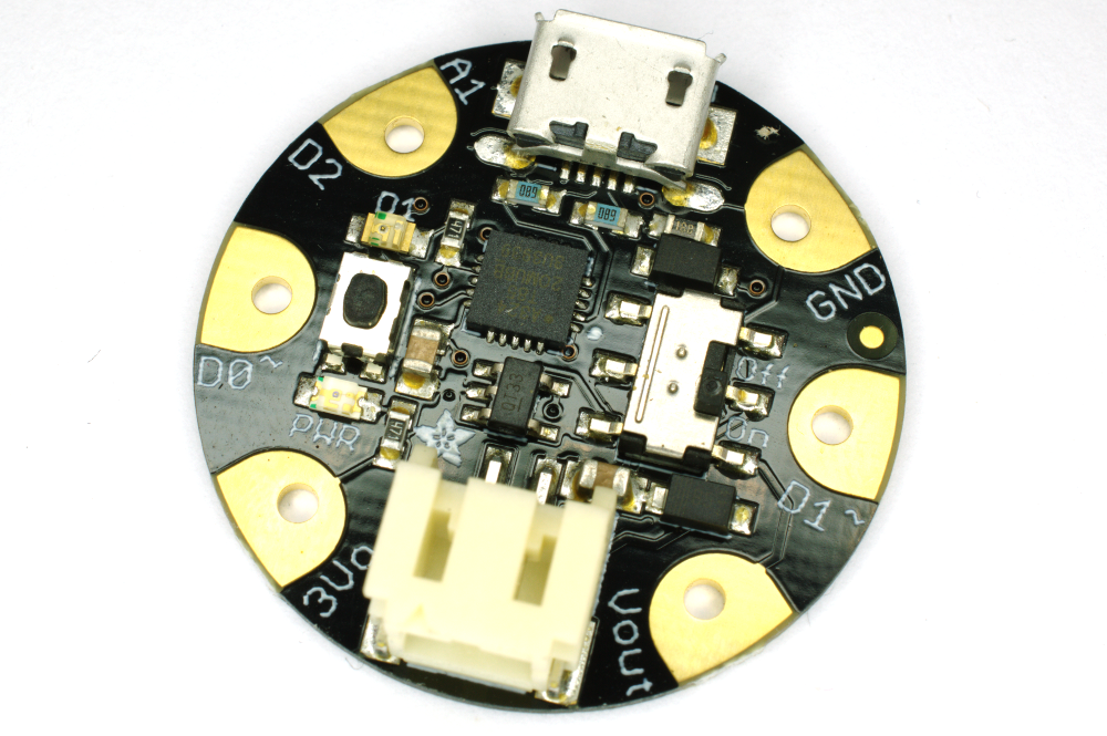 The parts are very tiny so that they can play the part of wearable