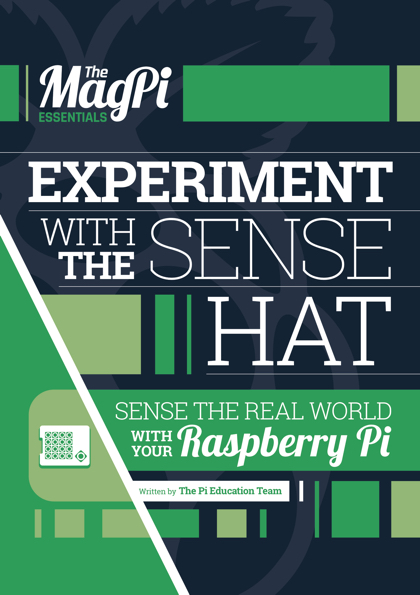 Experiment with a Sense HAT to find out more about the world around you