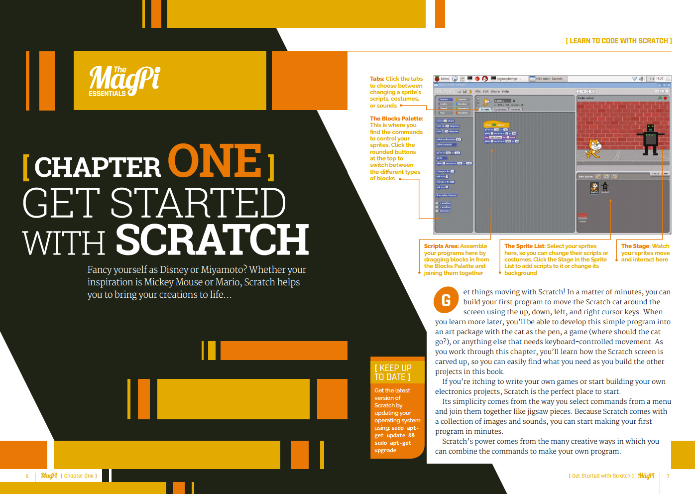 Get started with Scratch and learn the basics of coding today