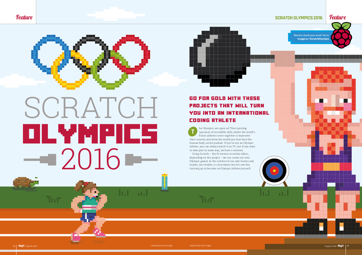 Compete in the Scratch Olympics. You don't even have to leave your house
