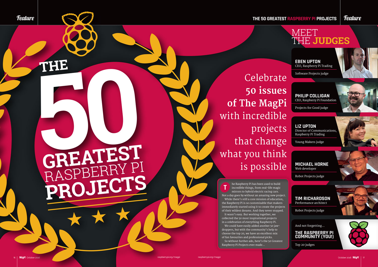The 50 Greatest Raspberry Pi projects