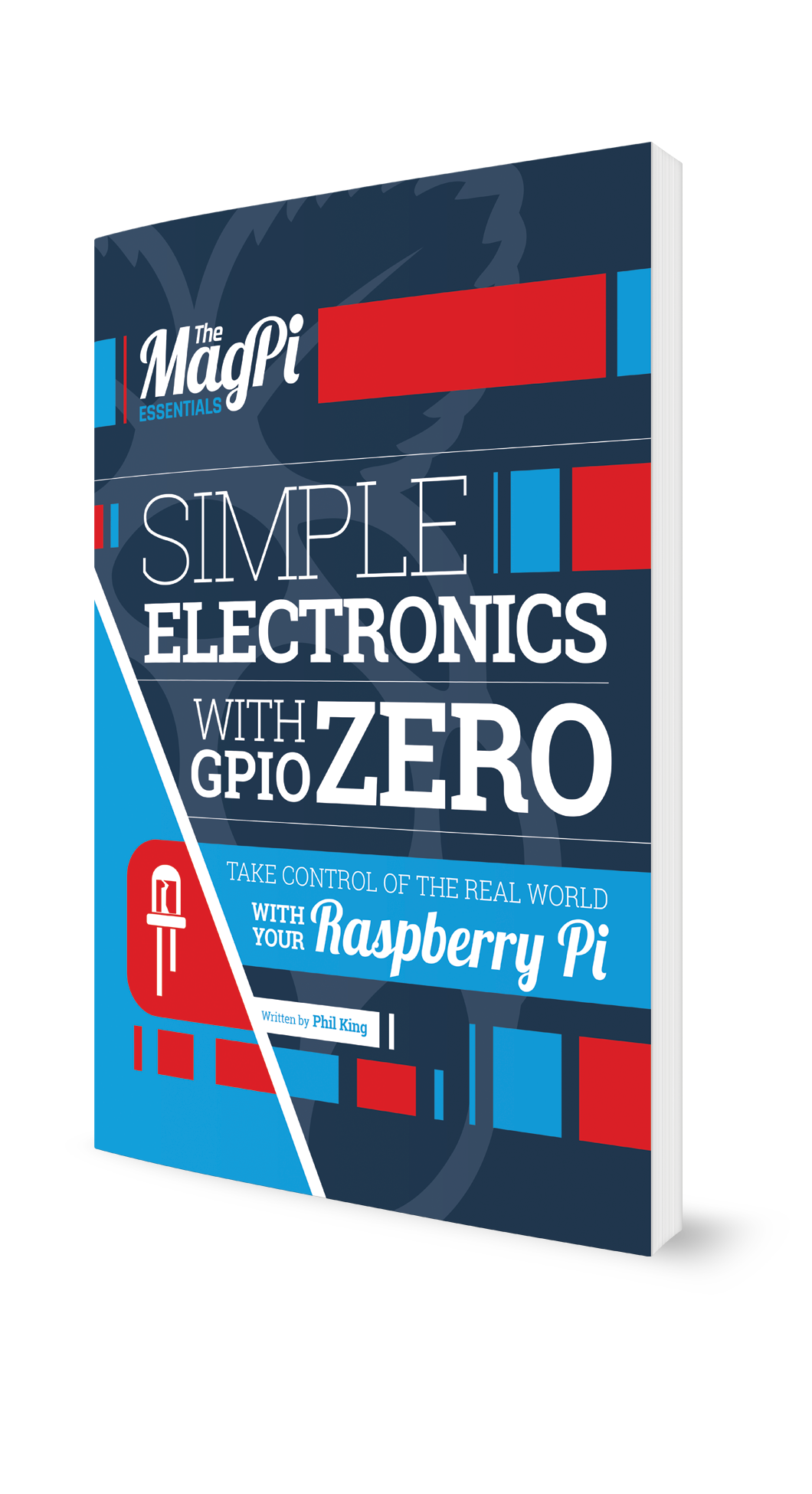 Learn how to create stunning electronics projects with your Raspberry Pi using our 100 page GPIO Zero Essentials guide. Using the GPIO pins on your Raspberry Pi opens up a whole new world of possibilities. While it might seem daunting at first glance, with our help you'll be creating electronic circuits and controlling them with the Python programming language within minutes. Grab your breadboard and start taking control of the real world with your Raspberry Pi today!