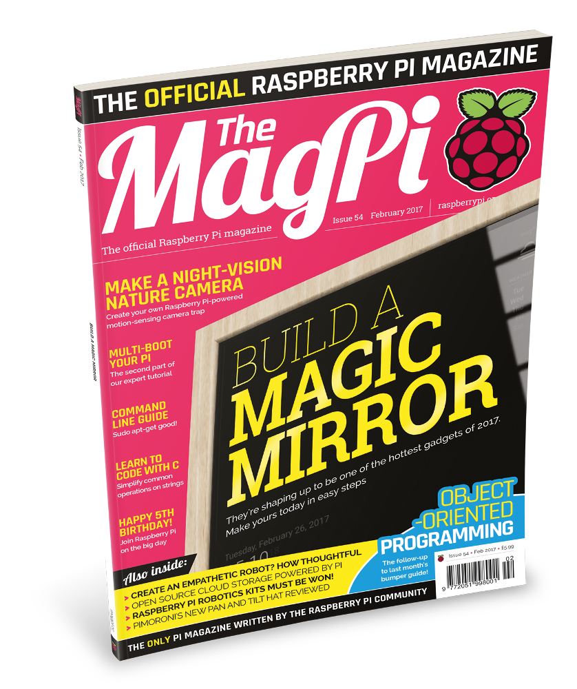 The latest issue is packed with excellent content