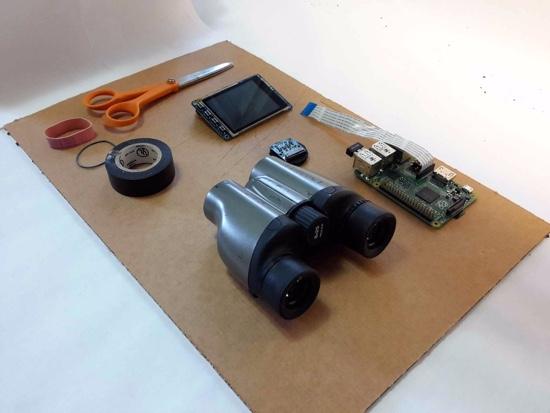 Binoculars into PiNoculars