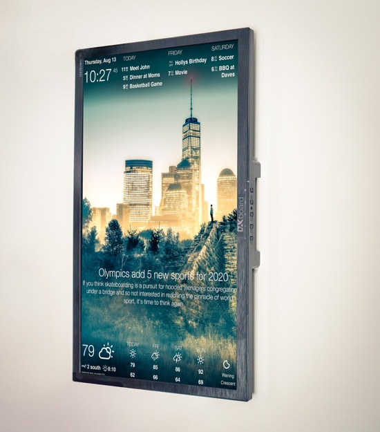 DAKBoard wall display