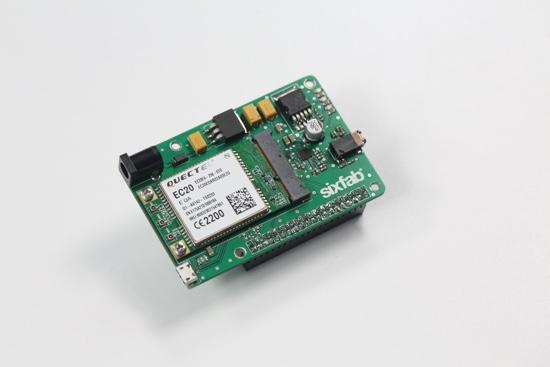 YouTube Drone SixFab LTE Shield