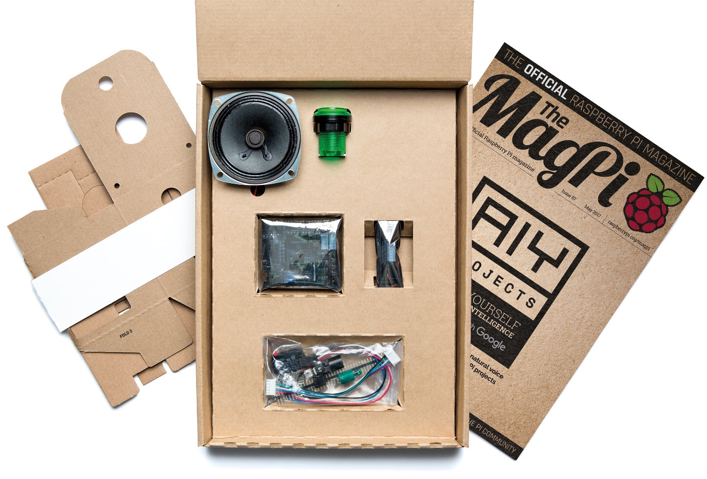 How to get the AIY Projects kit with The MagPi magazine — The ...