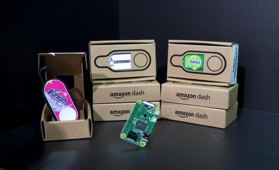 Hack an Amazon Dash using a Raspberry Pi and Python