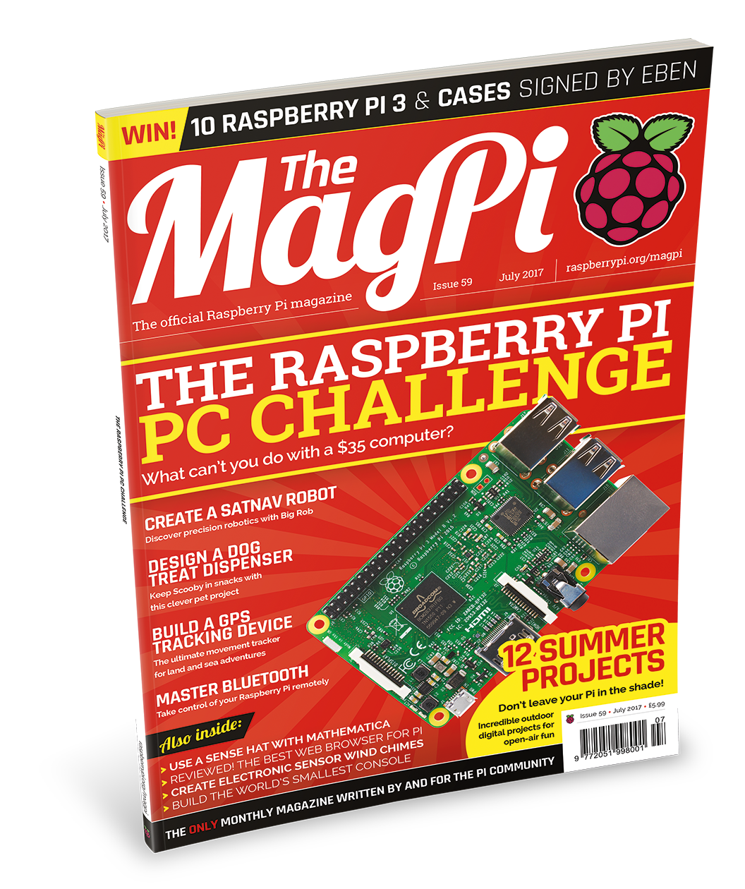 The Raspberry Pi PC Challenge in The MagPi 59
