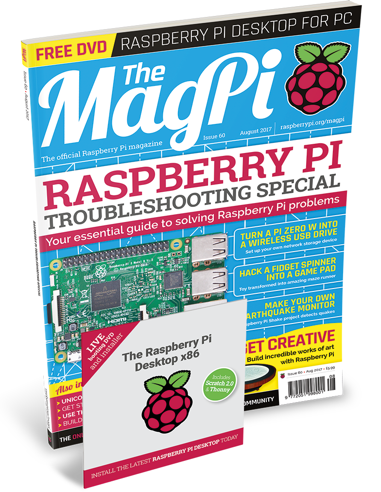 Raspberry Pi Troubleshooting Special in The MagPi 60