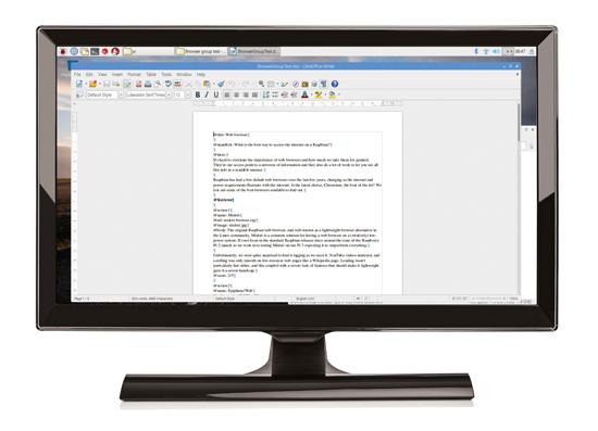 Raspberry Pi Desktop PC: Claws e-mail