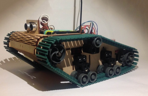 Keith, a classic Pi Wars robot