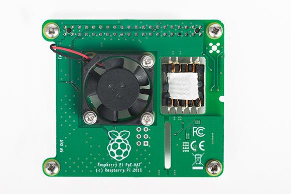 The Raspberry Pi PoE HAT