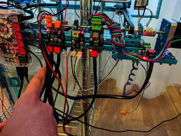 There are a lot of sensors required to keep the system working well