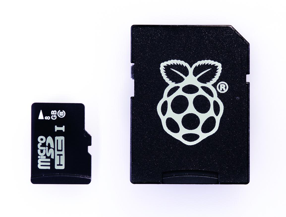 microSD card and microSD card to SD card adaptor