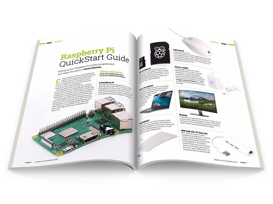 The MagPi: Raspberry Pi QuickStart Guide