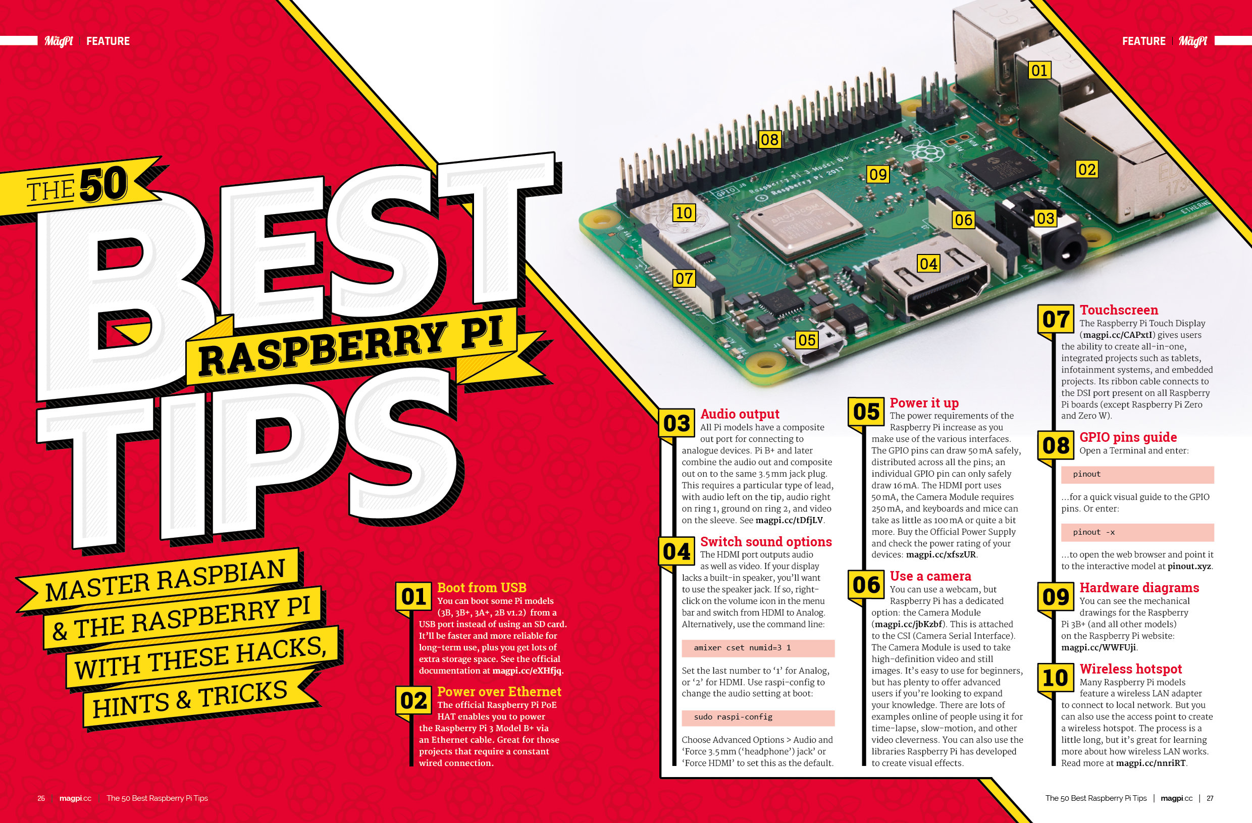 The 50 best Raspberry Pi tips