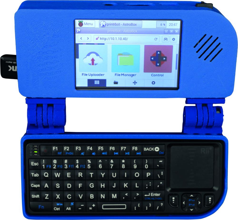The Adafruit Mini Handheld Notebook project