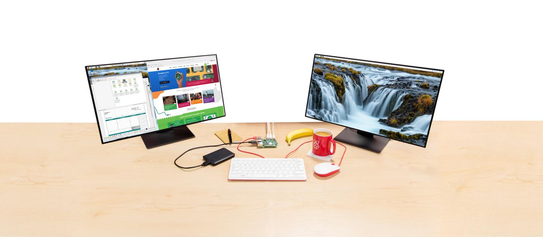 Dual-desktop Buster