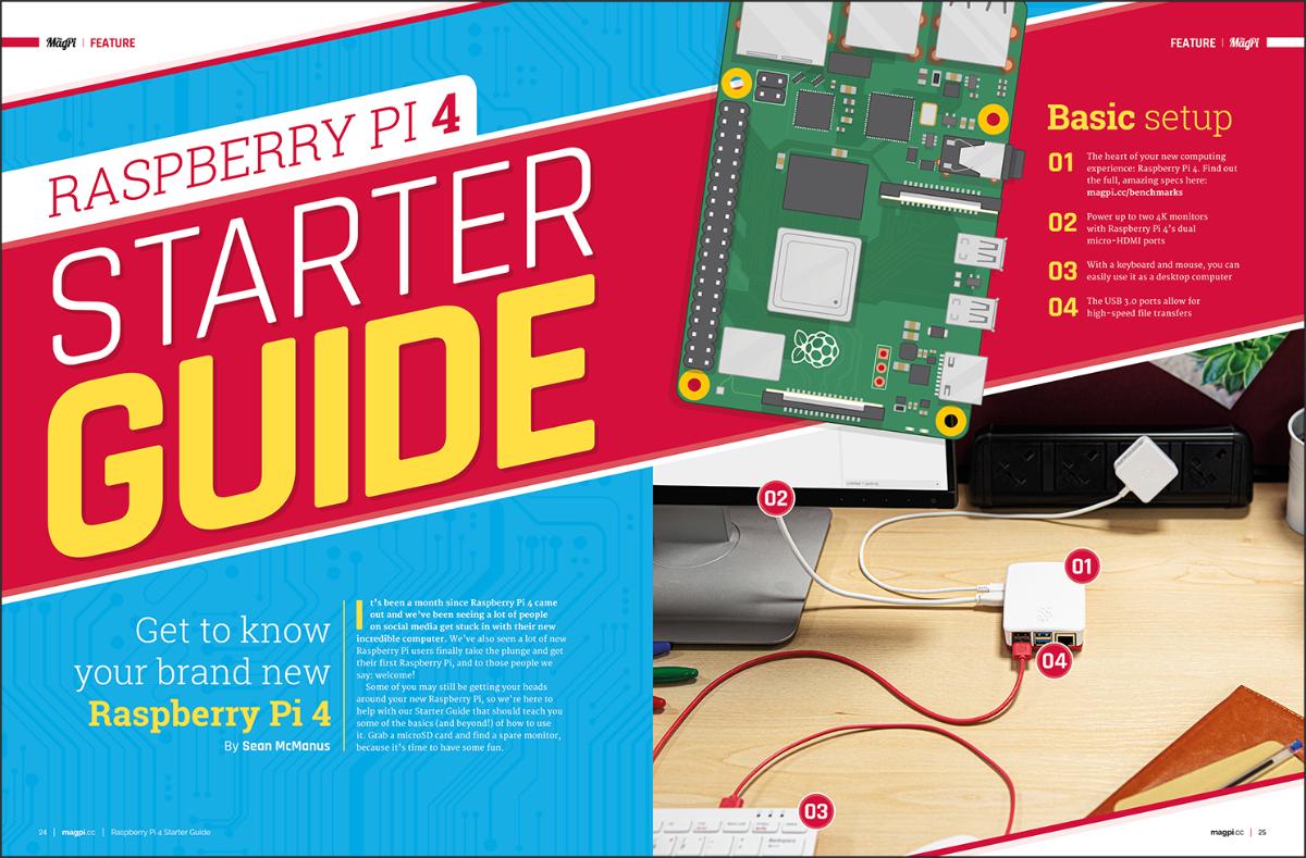 Raspberry Pi 4 Starter Guide