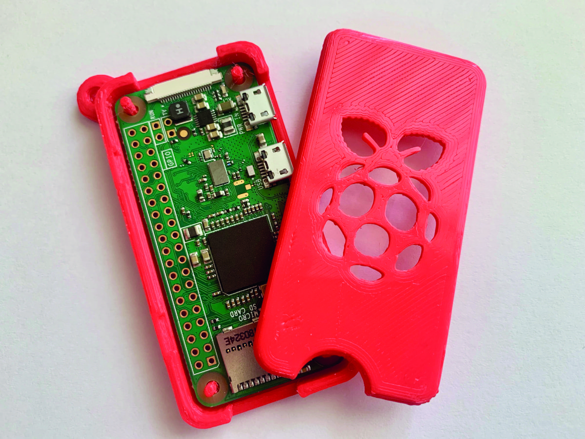 This project makes an ideal companion to last month's Keyring Pi – a Zero-to-go that can self-heal!