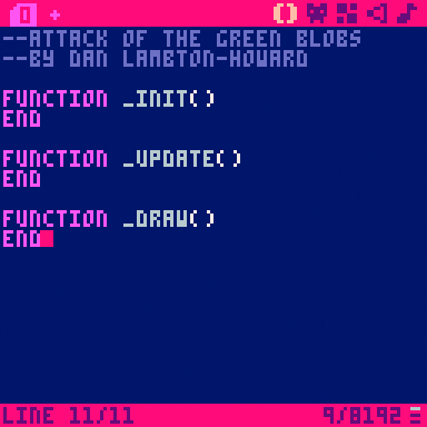 PICO-8 has a strict limit on code complexity, great for avoiding feature creep!