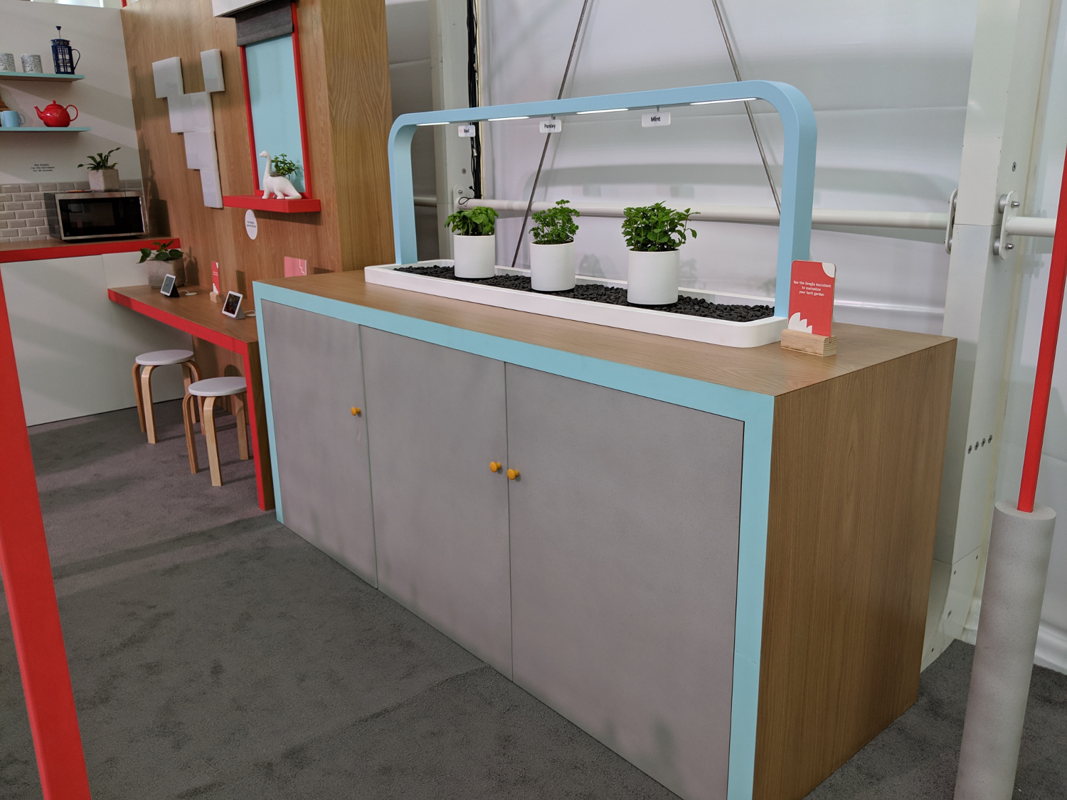 The Smart Herb Garden was created for Google I/O 2019 – here it is on displaythere!