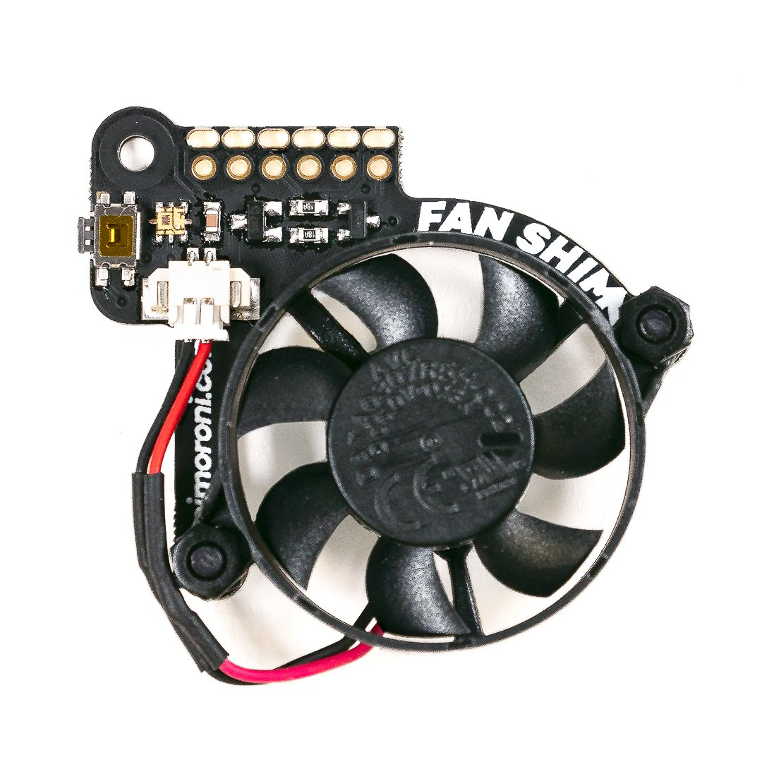 The Fan SHIM is easy to put together and add to a Pibow Coupé enclosed Raspberry Pi